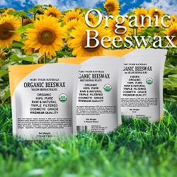 certified organic beeswax pellets by mary tylor naturals