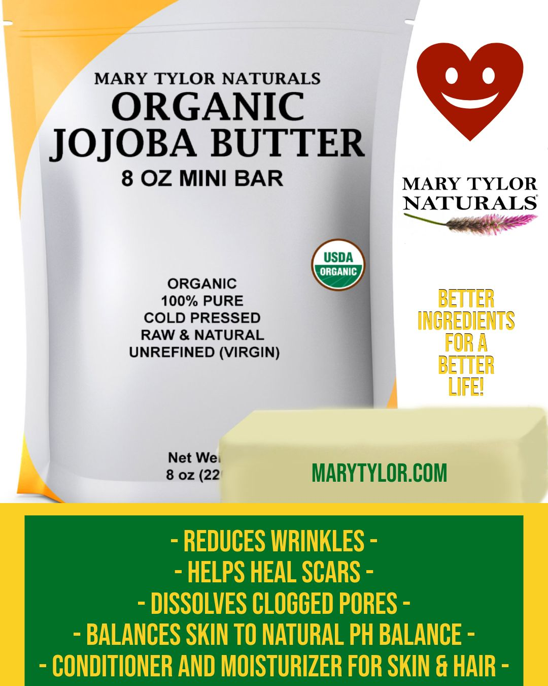Organic Jojoba Butter - What is it? How is it Pronounced? & How can it help your family...