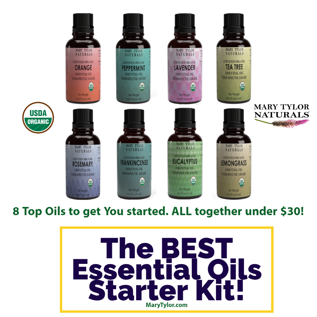 The BEST  Essential Oils Starter Kit! with the 8 Top Oils all under $30