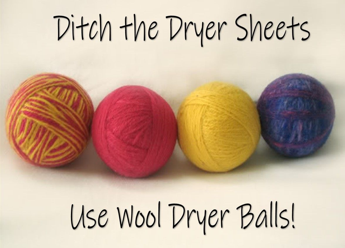 Why you should ditch dryer sheets!