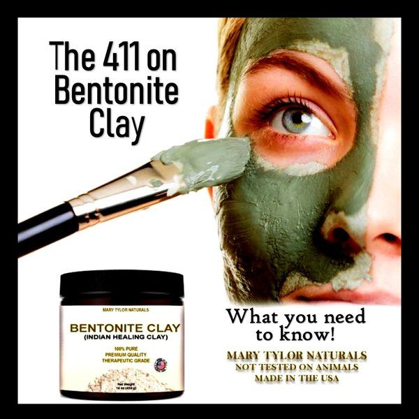 How to Use Bentonite Clay