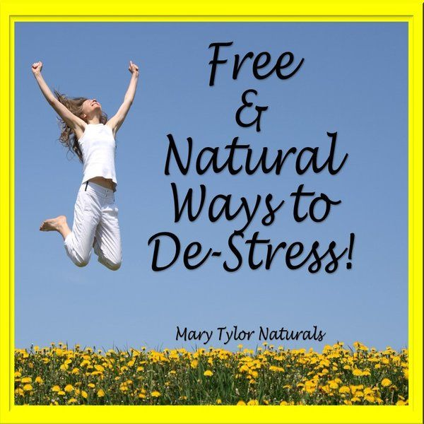 Free, Natural Ways to De-Stress