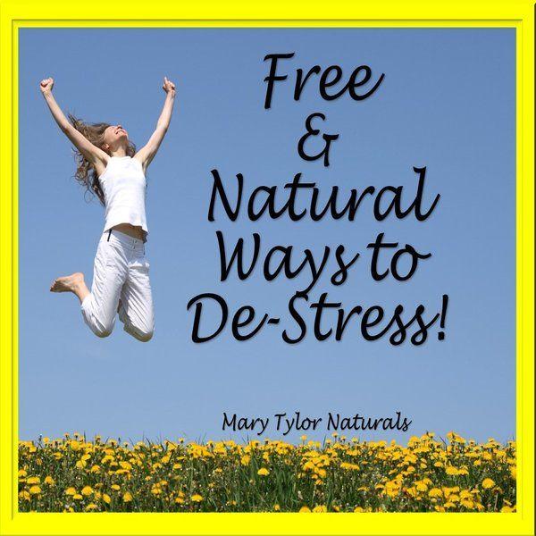 Free, Natural Ways to De-Stress