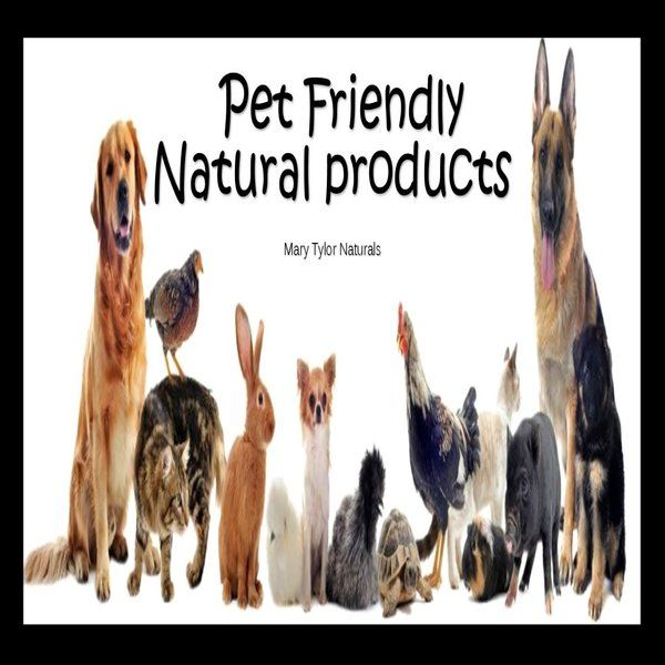 Pet Friendly Natural Products
