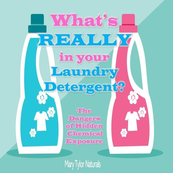 Whats Really in Laundry Detergent?