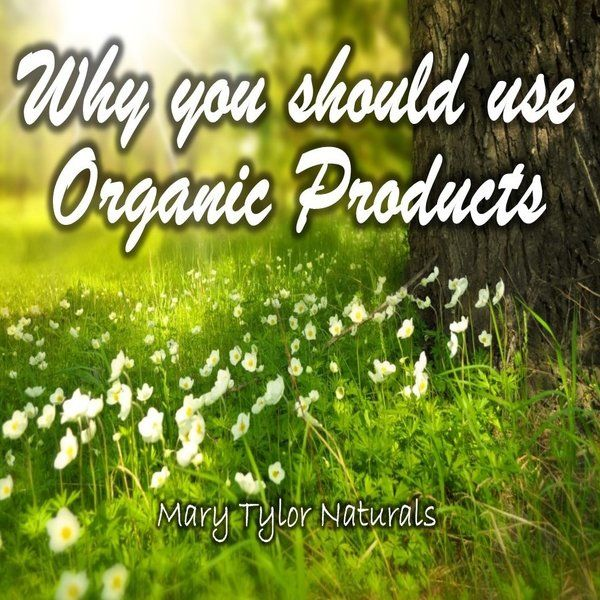 Why you should be using natural products!