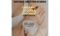 Organic Jojoba Body Balm - Natural Help for Eczema