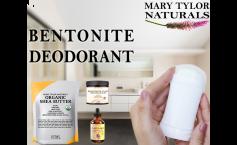 Organic DIY Deodorant with Bentonite Clay (NO BAKING SODA)