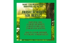 Diffuser Blend Recipe: Fresh Forest Scent