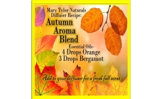 Diffuser Blend Recipe: Autumn Aromatherapy