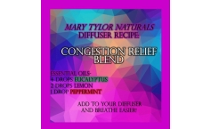 Diffuser Blend Recipe: Congestion Relief Blend