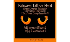 Diffuser Blend Recipe: Spooky Scented Halloween Diffuser Blend