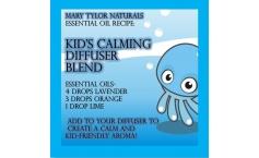 Diffuser Blend Recipe: Kid's Calming Blend