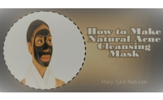 How to make a Natural Acne Cleaning Mask