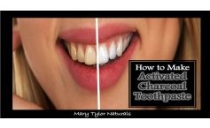 How to make activated charcoal toothpaste